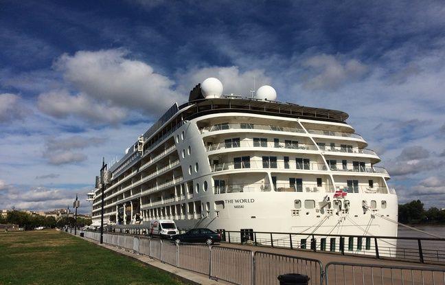 Le paquebot de croisière est en escale jusqu'à jeudi à Bordeaux.