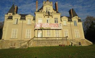 Le château du Tertre, à Nantes, est occupé depuis fin novembre