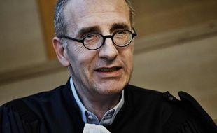 Jean-Felix Luciani, avocat du cardinal Barbarin, estime que son client n'a commis aucune infraction en ne dénonçant pas les agressions pédophiles du père Preynat, prêtre du diocèse de Lyon. JEFF PACHOUD / AFP