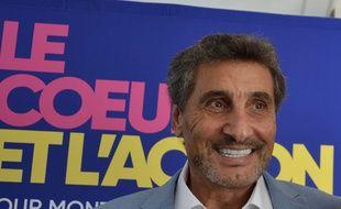 Mohed Altrad lors de l'annonce de sa candidature à la mairie de Montpellier