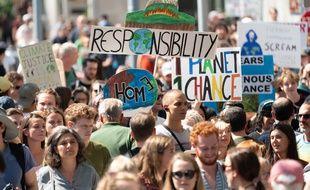 Des manifestations de militants écologistes sont prévues à New York cette semaine pour faire pression sur les dirigeants mondiaux à l'ONU.