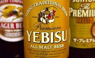 Des bouteilles d'alcool au Japon.
