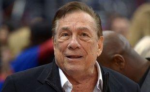 Le propriétaire des Los Angeles Clippers Donald Sterling.