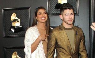 L'actrice Priyanka Chopra et son mari le chanteur Nick Jonas