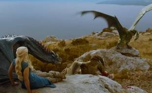 Daenerys Targaryen dans le trailer#3 de la saison 4 de «Game of Thrones»