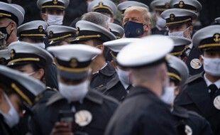 Donald Trump à l'académie militaire de West Point. (archives)