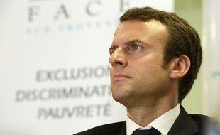 Emmanuel Macron était à Marseille ce lundi 6 juillet.