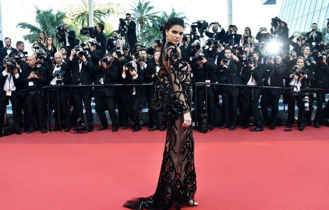 Kendal Jenner à Cannes le 15 mai 2016.