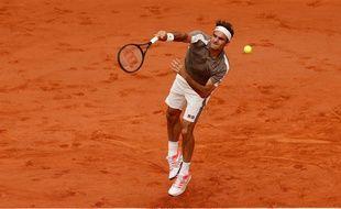 Federer à Roland, en 2019