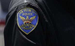 Un policier de San Francisco, aux Etats-Unis.