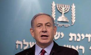 Benjamin Netanyahu a annoncé le 13 août à Tel Aviv un accord de grande ampleur avec un consortium comprenant l'américain Noble Energy pour l'exploitation des réserves israéliennes de gaz naturel en Méditerranée