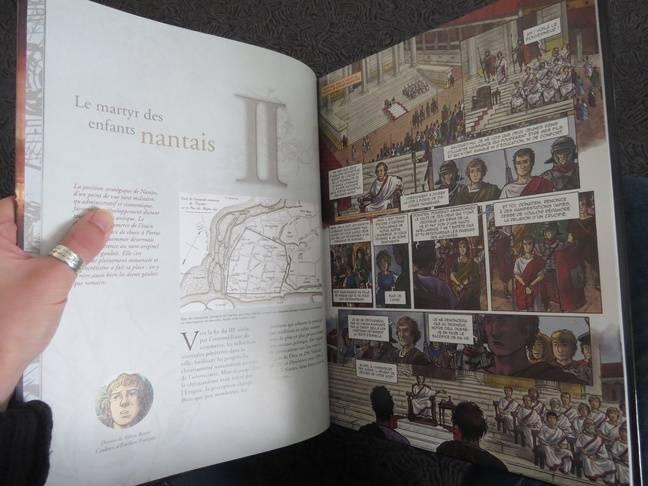La bande dessinée Nantes, de Saint-Felix à Gilles de Rais