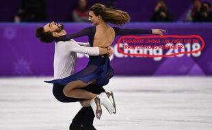 Le couple Papadakis-Cizeron a pris l'argent en danse sur glace.