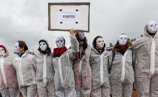 Marche contre les violences sexuelles infligées aux femmes, Lyon, le 23 novembre 2019.