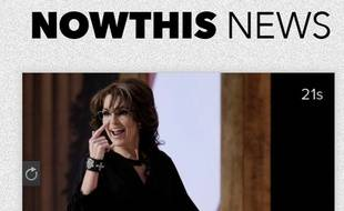 Capture d'écran du clip de campagne de Sarah Palin.