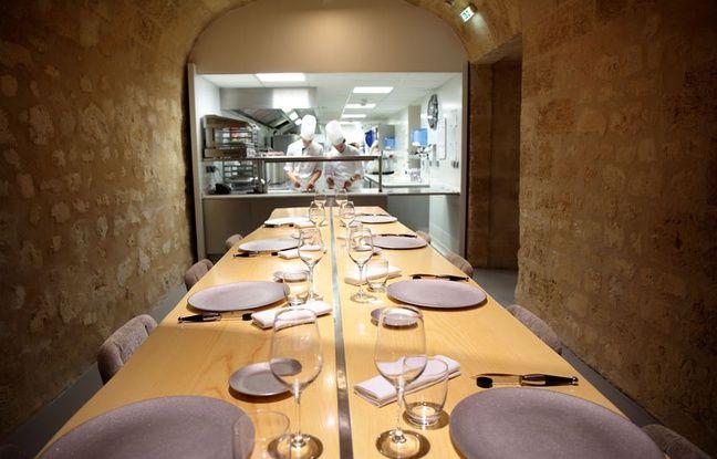 Bordeaux etchebest pousse les murs de sa brasserie pour - Decoration table restaurant gastronomique ...