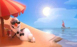 Olaf dans la Reine des neige