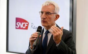 Guillaume Pepy, le PDG de la SNCF, en mars 2017.