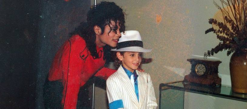 Michael Jackson et Wade Robson enfant.