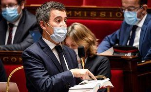 Gérald Darmanin, le 20 novembre 2020 à l'Assemblée nationale.