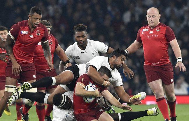 Coupe du monde revivez la victoire des anglais avec le bonus sur les fidji 35 11 - Coup du dragon en anglais ...