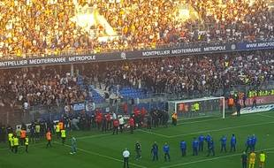 A l'aller, à la Mosson, le match avait été longuement interrompu lors du derby remporté par Montpellier contre Nîmes (3-0).