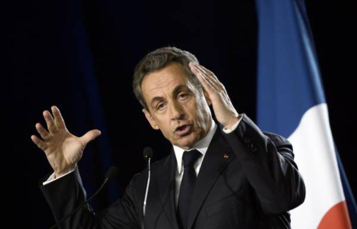 Nicolas Sarkozy en meeting le 07 novembre 2014 – Sakoutin
