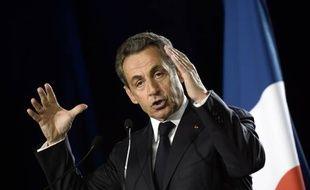 Nicolas Sarkozy en meeting le 07 novembre 2014