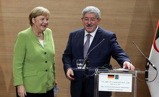 Angela Merkel a évoqué la question de l'immigration illégale avec le Premier ministre algérien, Ahmed Ouyahia.