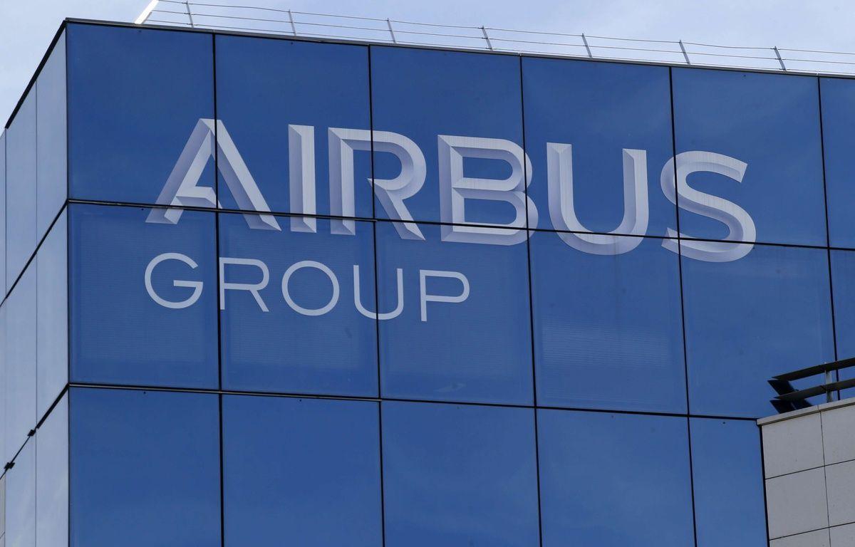 Logo Airbus Group –  Michel Euler/AP/SIPA