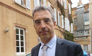 Dominique Reynié (LR-UDI-MoDem-CPNT), tête de liste en Languedoc-Roussillon/Midi-Pyrénées.