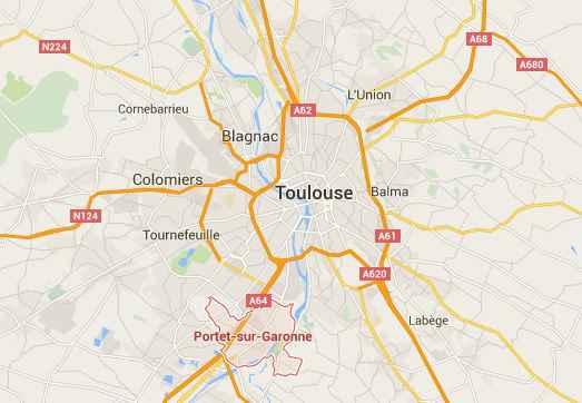 Toulouse avant no l les malfaiteurs s 39 en prennent aux for Toulouse portet sur garonne