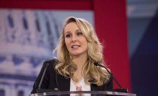 Marion Maréchal-Le Pen s'exprime le 22 février 2018 devant la  Conservative Political Action Conference (CPAC)  aux Etats-Unis.