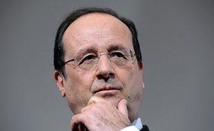 François Hollande le 30 mai 2014 à Rodez.