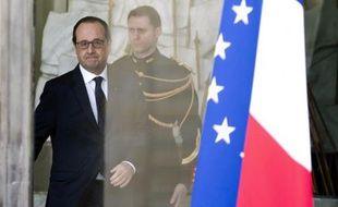 François Hollande au Palais de l'Elysée, le 21 janvier 2015