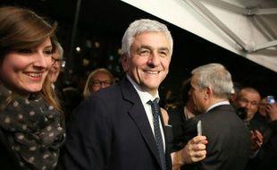 Le président du Nouveau Centre et candidat vainqueur en Normandie, Hervé Morin, le 13 décembre 2015