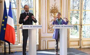 Edouard Philippe et Elisabeth Borne ont présenté le