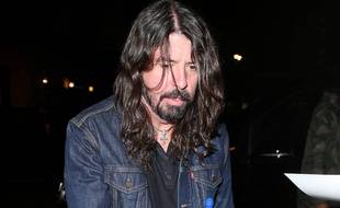 Le leader des Foo Fighters, Dave Grohl