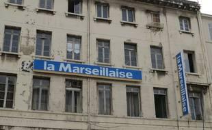 Le siège du journal à Marseille.