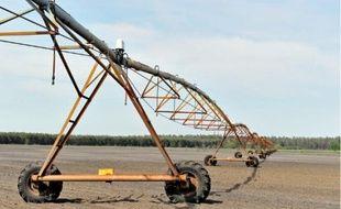 Les câbles électriques des travées d'irrigation sont la nouvelle cible privilégiée des voleurs de cuivre.