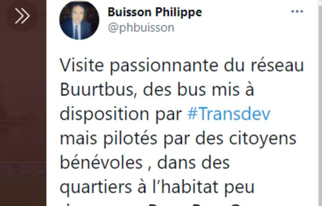Philippe Buisson avait visité un réseau Buurtbus aux Pays-Bas en 2019