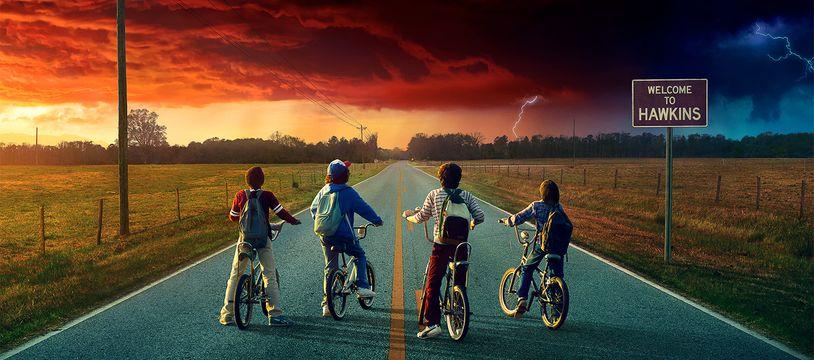 L'affiche de la saison 2 de Stranger Things