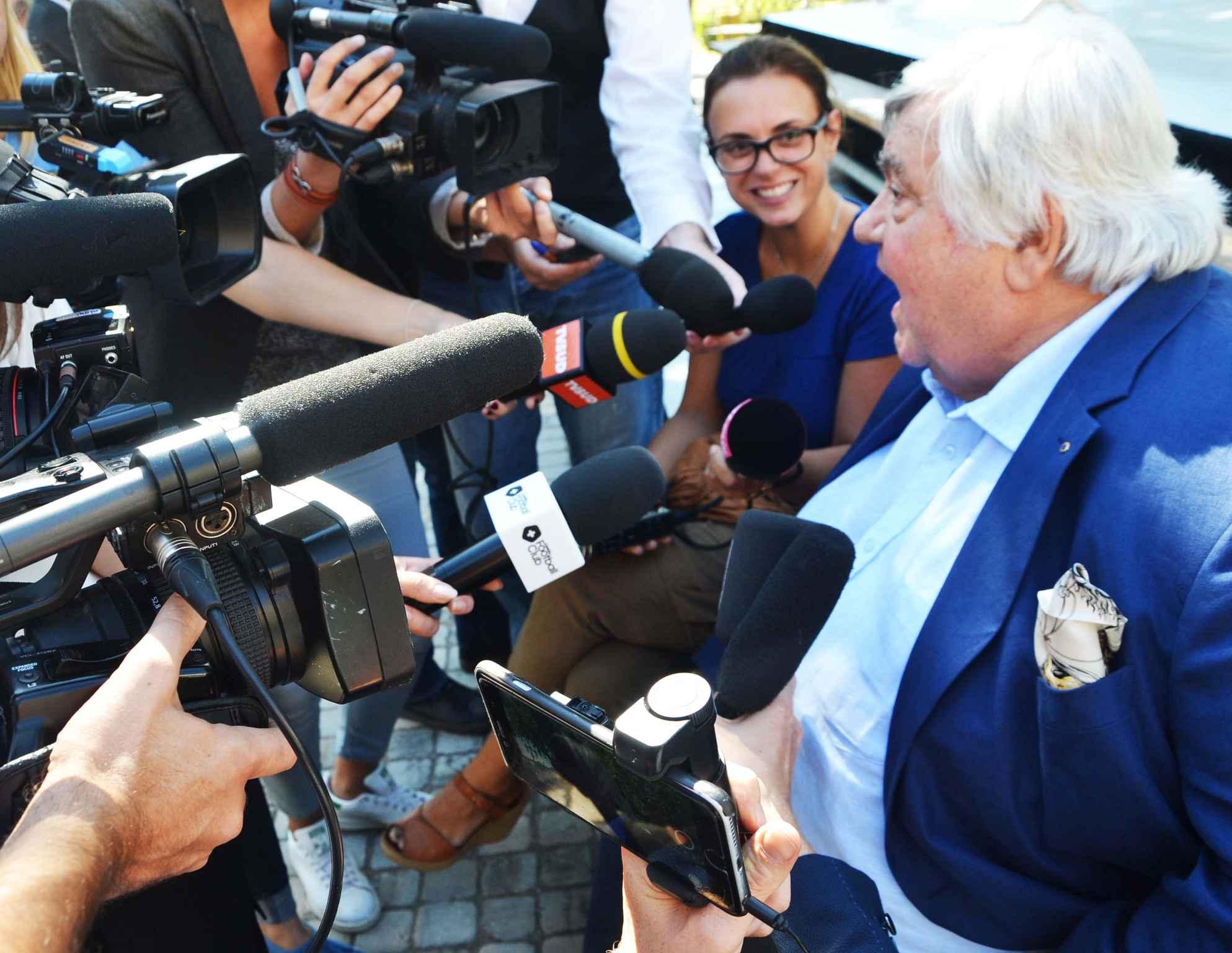 Montpellier : l'incroyable coup de gueule de Louis Nicollin