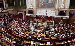 L'Assemblée nationale durant la session des questions au gouvernement, le 10 juillet 2018.