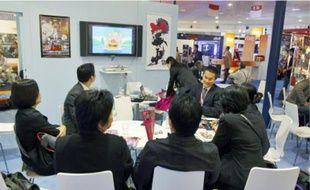 Au Mipcom, les professionnels viennent découvrir des programmes du monde entier.