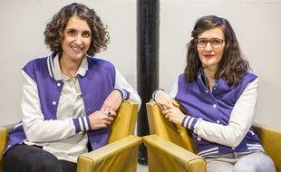 Clara Delétraz et Béatrice Moulin, fondatrices de Switch Collective