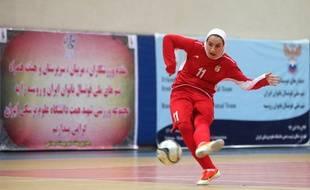 Niloofar Ardalan, capitaine de l'équipe nationale iranienne de football en salle.
