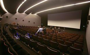 La grande salle du cinéma UGC Cinécité de Villeneuve d'Ascq.