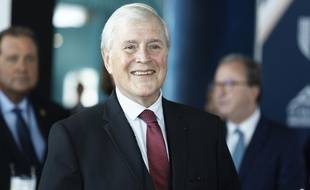 Le maire de Biarritz Michel Veunac (MoDem) lors du G7.