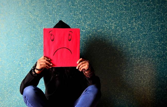 Illustration de la dépression. Le burn-out et la dépression n'épargnent pas les médecins, peux enclins à consulter.